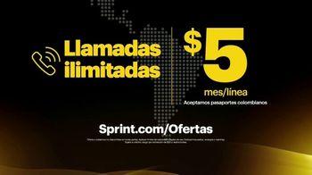 Sprint Unlimited TV Spot, 'Sprint te ofrece llamadas ilimitadas también por $5 dólares al mes' [Spanish] - Thumbnail 7
