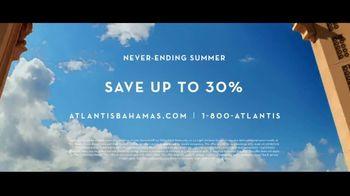 Atlantis TV Spot, 'Never-Ending Summer: 30 Percent Off' - Thumbnail 10