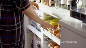 California Closets TV Spot, 'Erin's Pantry Story: Pantry Transformation' - Thumbnail 1