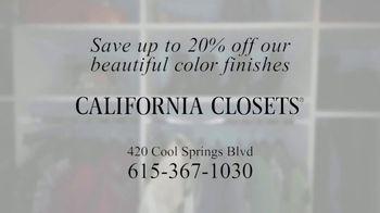 California Closets TV Spot, 'Erin's Pantry Story: Pantry Transformation' - Thumbnail 7