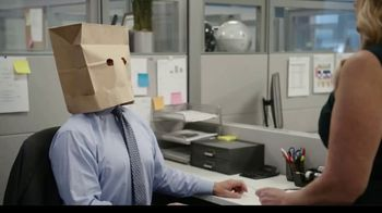 AARP Fraud Watch Network TV Spot, 'Bag Head' Featuring Kenny Mayne, Linda Cohn - Thumbnail 4