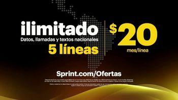 Sprint Unlimited TV Spot, 'Ahora en Sprint te damos 200 minutos para llamar a Latinoamérica' [Spanish] - Thumbnail 5