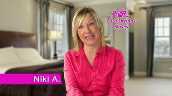 My Pillow Giza Dreams Sheets TV Spot, 'Customer Testimonies' - 52 commercial airings