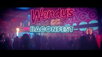 Wendy's Baconfest TV Spot, 'Llegó la fiesta del mejor Bacon' [Spanish]