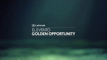 Lexus Evento Golden Opportunity TV Spot, 'Lujo y capacidad' [Spanish] [T2] - Thumbnail 1