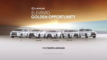 Lexus Evento Golden Opportunity TV Spot, 'Lujo y capacidad' [Spanish] [T2] - Thumbnail 10