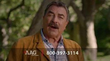 American Advisors Group Reverse Mortgage Loan TV Spot, \'Reverse Your Thinking\' Featuring Tom Selleck