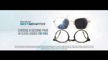 Essilor Ultimate Lens Package TV Spot, 'Eyezen Single Vision Lenses: Next GEN Offer' Song by Kygo - Thumbnail 10