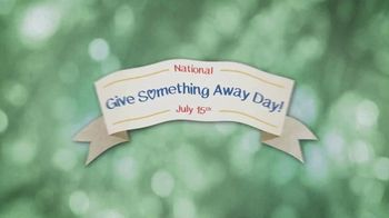 AARP Services, Inc. TV Spot, 'History Channel: National Give Something Away Day' - Thumbnail 1