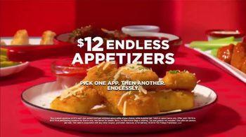 TGI Friday's $12 Endless Appetizers TV Spot, 'Endless Apps Are Back' - Thumbnail 9