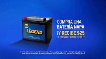 NAPA Auto Parts TV Spot, 'Batería' [Spanish] - Thumbnail 9