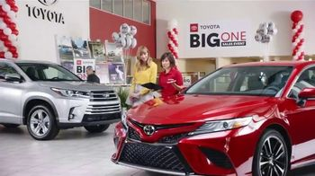 Toyota Big One Sales Event TV Spot, 'Easy: Man of My Dreams' [T2] - Thumbnail 1