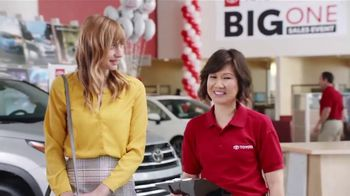 Toyota Big One Sales Event TV Spot, 'Easy: Man of My Dreams' [T2] - Thumbnail 2