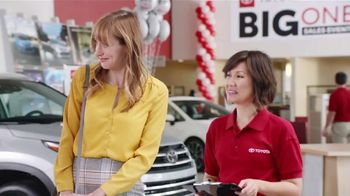 Toyota Big One Sales Event TV Spot, 'Easy: Man of My Dreams' [T2] - Thumbnail 3