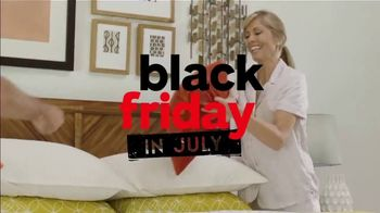 Ashley HomeStore Black Friday in July TV Spot, 'Ashley-Sleep Mattress' Song by Midnight Riot