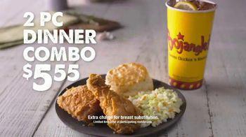 Bojangles' 2-Piece Dinner Combo TV Spot, 'Leg and a Thigh' - Thumbnail 2