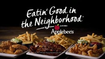 Applebee's All You Can Eat Riblets, Tenders + Shrimp TV Spot, 'The Boys are Back in Town' Song by Thin Lizzy - Thumbnail 8
