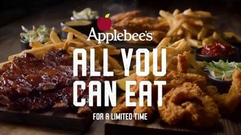 Applebee's All You Can Eat Riblets, Tenders + Shrimp TV Spot, 'The Boys are Back in Town' Song by Thin Lizzy - Thumbnail 4