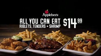 Applebee's All You Can Eat Riblets, Tenders + Shrimp TV Spot, 'The Boys are Back in Town' Song by Thin Lizzy - Thumbnail 7
