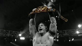 WWE Shop TV Spot, 'Inspired by Millions: 25% off Titles and 50% off Tees' - 2 commercial airings