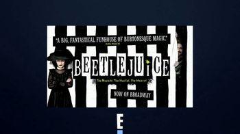Beetlejuice TV Spot, 'Entertainment Network E!: Screamingly Good'