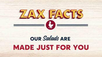 Zaxby's Zalad TV Spot, 'Zax Facts: That's a Zalad' - Thumbnail 1