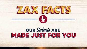 Zaxby's Zalad TV Spot, 'Zax Facts: That's a Zalad' - Thumbnail 2