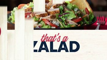 Zaxby's Zalad TV Spot, 'Zax Facts: That's a Zalad' - Thumbnail 8