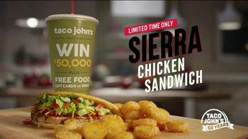 Taco John's Sierra Chicken Sandwich TV Spot, '50th Anniversary'