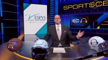 The V Foundation for Cancer Research TV Spot, '2019 ESPYS Auction' Featuring Scott Van Pelt - 2 commercial airings