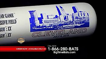 Big Time Bats TV Spot, 'Cleveland Indians' - 4 commercial airings