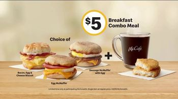 McDonald's Breakfast Combo Meal TV Spot, 'Chicagoland' - Thumbnail 7