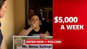 Publishers Clearing House TV Spot, '$5,000 a Week for Life: Big Check' Featuring Steve Harvey - Thumbnail 4