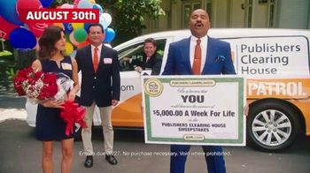 Publishers Clearing House TV Spot, '$5,000 a Week for Life: Big Check' Featuring Steve Harvey - Thumbnail 6