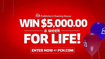Publishers Clearing House TV Spot, '$5,000 a Week for Life: Big Check' Featuring Steve Harvey - Thumbnail 8