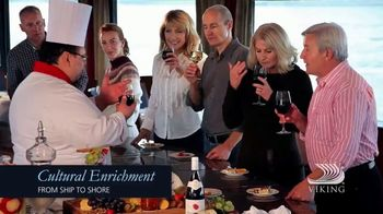 Viking River Cruises Explorers' Sale TV Spot, 'Get Closer' - Thumbnail 6