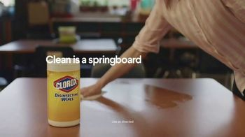 Clorox Disinfecting Wipes TV Spot, 'Springboard for Creativity'