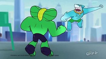 Heroes of Goo Jit Zu TV Spot, 'Trash vs. Lockjaw' - Thumbnail 3