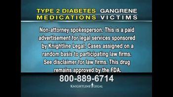 Knightline Legal TV Spot, 'Invokana and Jardiance Law Suit' - Thumbnail 2