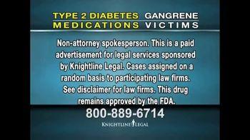 Knightline Legal TV Spot, 'Invokana and Jardiance Law Suit' - Thumbnail 3