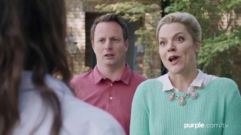 Purple Mattress TV Commercial, 'Neighbors: Free Purple Product'