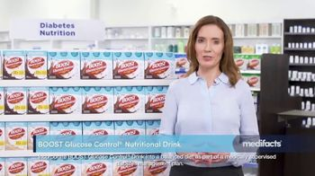 Boost Glucose Control TV Spot, 'MediFacts: Manage Blood Sugar'