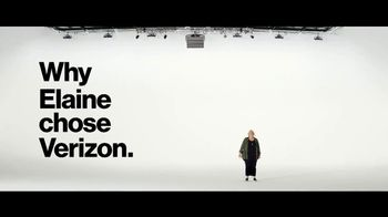 Verizon TV Spot, 'Why Elaine Chose Verizon: Get $100'
