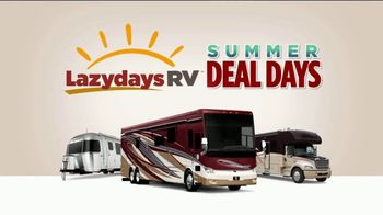 Lazydays Summer Deal Days TV Spot, '2019 Travel Trailers' - Thumbnail 2