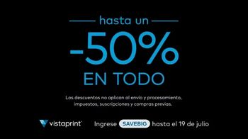 Vistaprint Right Now TV Spot, 'July Semi-Annual Sale' [Spanish] - Thumbnail 3