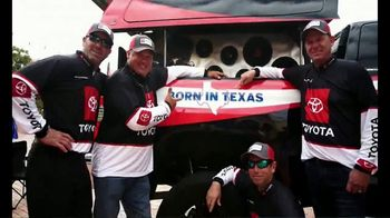 Toyota TV Spot, 'Assembled in Texas' Featuring Antron Brown, Mike Iaconelli [T1] - Thumbnail 9