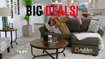 Ashley HomeStore Black Friday in July TV Spot, 'Big Deals' Song by Midnight Riot - Thumbnail 5