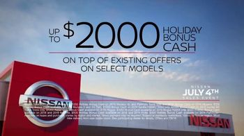 Nissan July 4th Sales Event TV Spot, 'Holiday Weekend' [T2] - Thumbnail 9