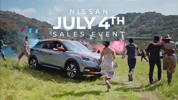 Nissan July 4th Sales Event TV Spot, 'Holiday Weekend' [T2] - Thumbnail 4