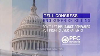 Physicians for Fair Coverage TV Spot, 'Stop Surprise Medical Bills and Protect Patient Access to Quality Care' - Thumbnail 6